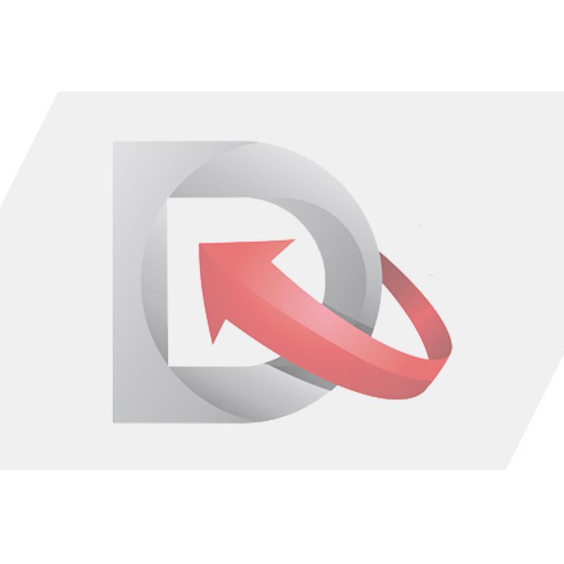 """3"""" Dyer Font™ Letter, Black """"D"""", 10 Pack"""